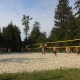 Beachvolleyball waldbad anif