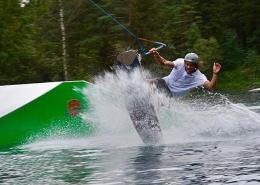 wakeboarden waldbad anif salzburg