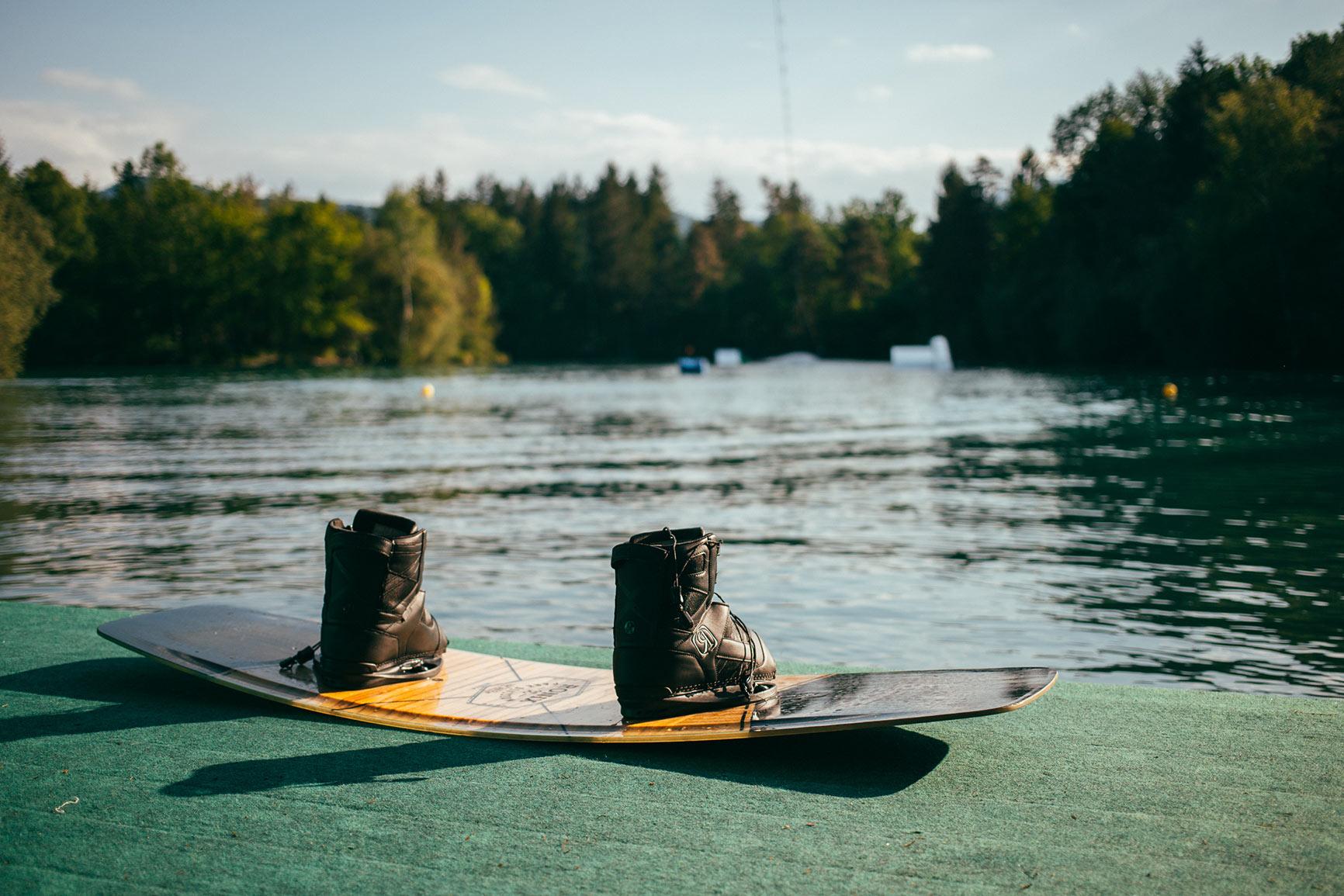 Wakeboarden Waldbad